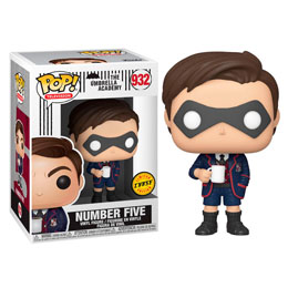 FUNKO POP UMBRELLA ACADEMY NUMBER FIVE CHASE EXCLUSIVE