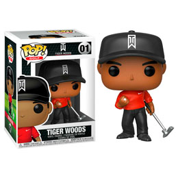 TIGER WOODS POP! GOLF VINYL FIGURINE TIGER WOODS (RED SHIRT)