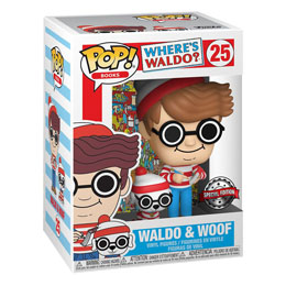 OÙ EST CHARLIE FUNKO POP! WALDO WITH DOG EXCLUSIVE