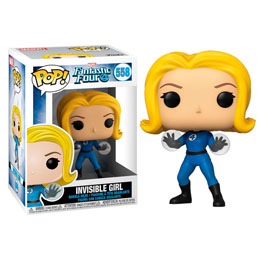 FUNKO POP MARVEL LES 4 FANTASTIQUES INVISIBLE GIRL