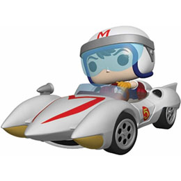 SPEED RACER POP! RIDES VINYL FIGURINE SPEED WITH MACH 5