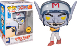 FUNKO POP SPEED RACER SPEED IN HELMET CHASE EXCLUSIVE