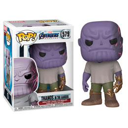 AVENGERS ENDGAME POP! MOVIES VINYL FIGURINE CASUAL THANOS WITH GAUNTLET