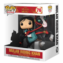 DISNEY MULAN FUNKO POP RIDES MULAN ON KHAN 18 CM