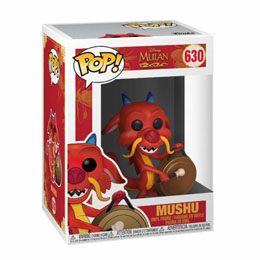 DISNEY MULAN FUNKO POP MUSHU WITH GONG