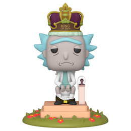 RICK & MORTY FUNKO POP! FIGURINE SONORE RICK ON TOILET