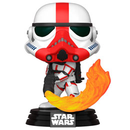 FUNKO POP STAR WARS THE MANDALORIAN INCINERATOR STORMTROOPER