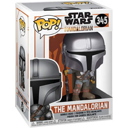 STAR WARS THE MANDALORIAN FUNKO POP! THE MANDALORIAN 9 CM