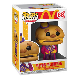 MCDONALD'S POP! AD ICONS VINYL FIGURINE MAYOR MCCHEESE