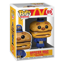 MCDONALD'S POP! AD ICONS VINYL FIGURINE OFFICER MAC