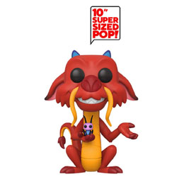 DISNEY MULAN SUPER SIZED POP! MUSHU 25 CM (EMBALLAGE ENDOMMAGÉ)