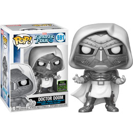 FIGURINE FUNKO POP MARVEL LES 4 FANTASTIQUES DOCTOR DOOM EXCLUSIVE