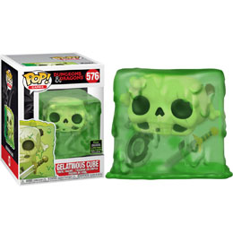 FUNKO POP DUNGEONS & DRAGONS GELATINOUS CUBE EXCLUSIVE