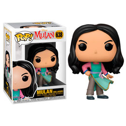 MULAN (2020) POP! MOVIES VINYL FIGURINE VILLAGER MULAN