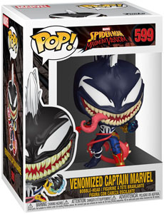MARVEL VENOM POP! MARVEL FIGURINE CAPTAIN MARVEL 9 CM