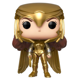 FUNKO POP DC WONDER WOMAN 1984 WONDER WOMAN GOLD POWER POSE