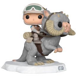 STAR WARS POP! DELUXE MOVIES FIGURINE LUKE ON TAUN TAUN 9 CM