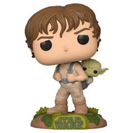 STAR WARS POP! MOVIES VINYL FIGURINE TRAINING LUKE WITH YODA