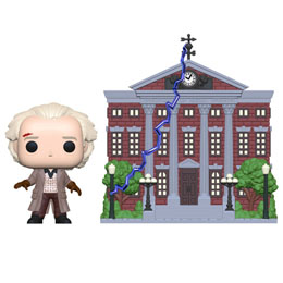 FIGURINE RETOUR VERS LE FUTUR FUNKO POP! TOWN DOC WITH CLOCK TOWER