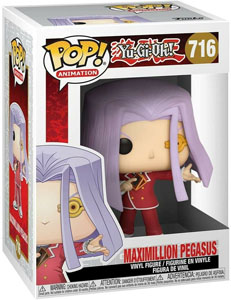 YU-GI-OH! FUNKO POP! ANIMATION FIGURINE MAXIMILLION PEGASUS