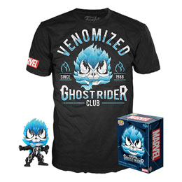 MARVEL VENOM POP! & TEE SET FIGURINE ET T-SHIRT VENOM/GHOST RIDER
