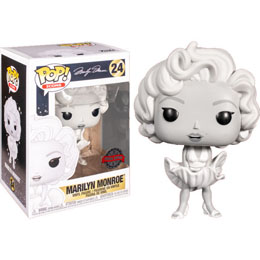 FIGURINE FUNKO POP MARILYN MONROE BLACK AND WHITE EXCLUSIVE