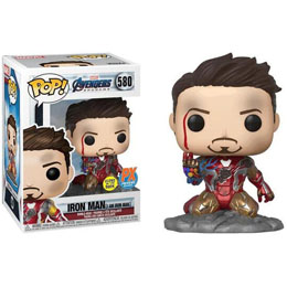 AVENGERS ENDGAME FUNKO POP! I AM IRON MAN GITD EXCLUSIVE