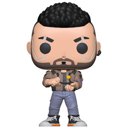 CYBERPUNK 2077 POP! GAMES VINYL FIGURINE V-MALE