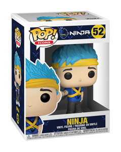 Photo du produit FUNKO POP! ICONS NINJA (RICHARD TYLER BLEVINS)  Photo 1