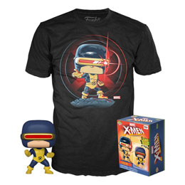 MARVEL 80TH FUNKO POP! & TEE SET FIGURINE ET T-SHIRT FIRST APPEARANCE CYCLOPS