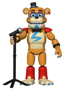 FIVE NIGHTS AT FREDDY'S SECURITY BREACH FIGURINE GLAMROCK FREDDY 13 CM