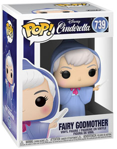 CENDRILLON POP! MOVIES VINYL FIGURINE FAIRY GODMOTHER