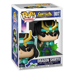 SAINT SEIYA FIGURINE FUNKO POP DRAGON SHIRYU 9 CM