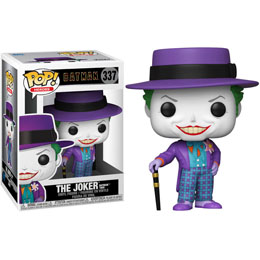 FUNKO POP DC COMICS BATMAN 1989 JOKER WITH HAT