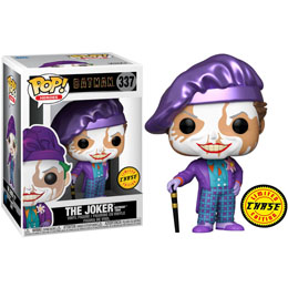 FUNKO POP DC COMICS BATMAN 1989 JOKER WITH HAT CHASE EXCLUSIVE