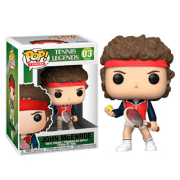 TENNIS LEGENDS FUNKO POP! SPORTS JOHN MCENROE 9 CM