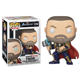 FUNKO POP MARVEL AVENGERS GAME THOR STARK TECH SUIT