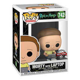 RICK & MORTY FUNKO POP! MORTY WITH LAPTOP EXCLUSIVE