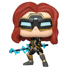 FUNKO POP MARVEL AVENGERS GAME BLACK WIDOW STARK TECH SUIT