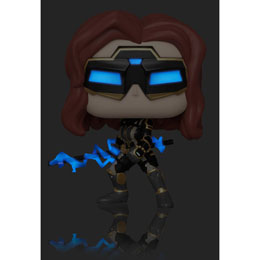 FUNKO POP MARVEL AVENGERS GAME BLACK WIDOW STARK TECH SUIT GLOW CHASE
