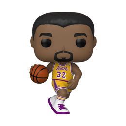 FIGURINE FUNKO POP NBA LEGENDS POP! SPORTS VINYL FIGURINE MAGIC JOHNSON (LAKERS HOME)