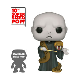 HARRY POTTER SUPER SIZED FUNKO POP! VOLDEMORT W/NAGINI 25 CM