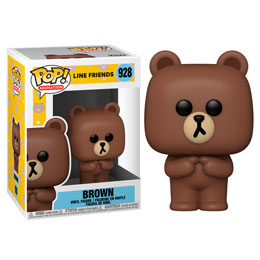 FIGURINE FUNKO POP LINE FRIENDS BROWN