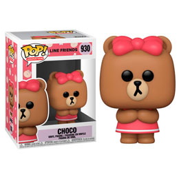 FIGURINE FUNKO POP LINE FRIENDS CHOCO