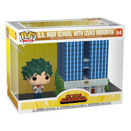 MY HERO ACADEMIA FUNKO POP! TOWN FIGURINE U.A. HIGH SCHOOL WITH DEKU IN UNIFORM