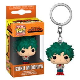 MY HERO ACADEMIA PORTE-CLÉS POCKET POP! VINYL DEKU IN SCHOOL UNIFORM
