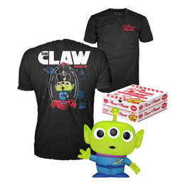 TOY STORY FUNKO POP! & TEE SET FIGURINE ET T-SHIRT ALIEN