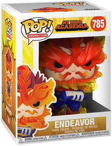 MY HERO ACADEMIA POP! ANIMATION VINYL FIGURINE ENDEAVOR