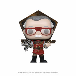 FIGURINE FUNKO POP STAN LEE IN RAGNAROK OUTFIT