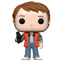 FIGURINE RETOUR VERS LE FUTUR FUNKO POP! MARTY IN PUFFY VEST